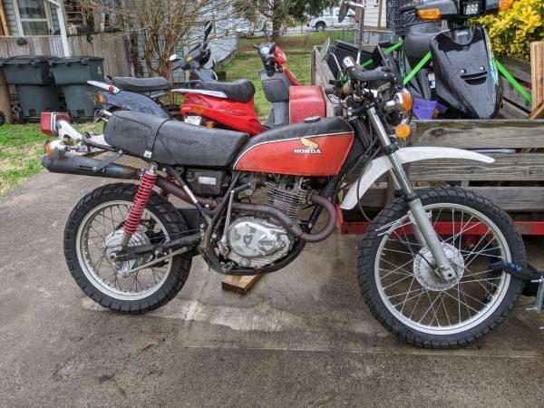 Photo 1976 Honda XL250  74 and 76 xl350parts bikes - $1,700 (Nashville)