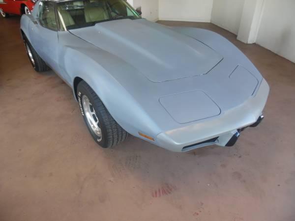 Photo 1977 Chevy Corvette Project car - $7,499 (Hartford)