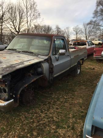 Photo 1985 Chevrolet C10 Pickup - Parts Only