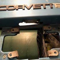Photo 1986-1989 Chevy Corvette Convertible Rear bumper - $100 (Smyrna, TN)
