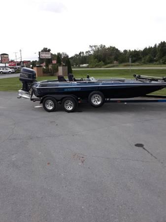 Photo 1989 Glasstream Bass Boat 21ft - $4,800 (Greenbriar)