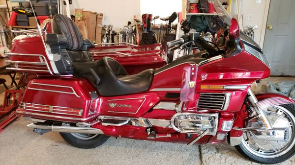 Photo 1992 Honda Goldwing 1500 - $3500 (Mount Juliet)