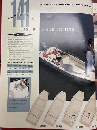 Photo 1993 Scout Fishing Boat - $3,950 (Madison)