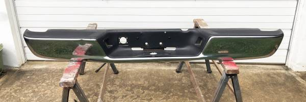 2002 Dodge Ram 1500 Chrome Rear Bumper wMounting Brackets - $150 (Murfreesboro, TN)