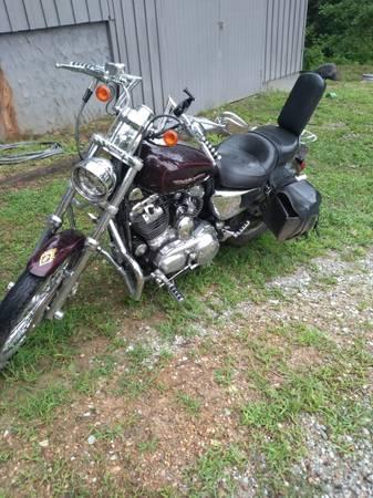 Photo 2006 harley davidson sportster 1200 custom - $4,300 (Waverly TN)