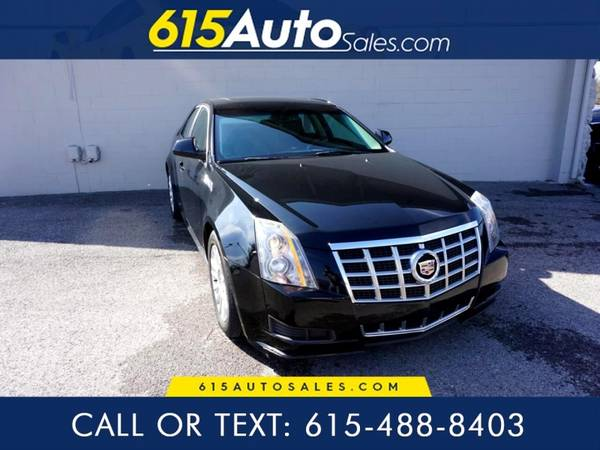 Photo 2013 Cadillac CTS $0 DOWN BAD CREDIT WE FINANCE - $15500 (615 W. Main St. Hendersonville, TN)