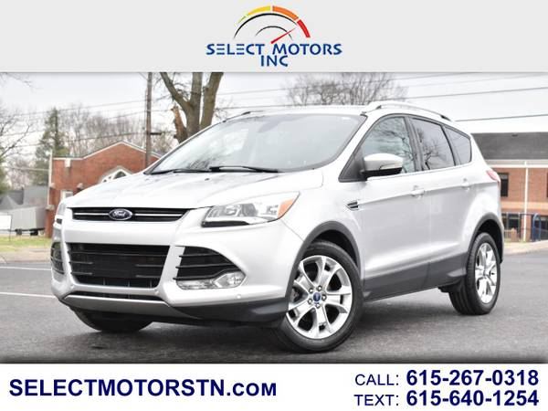 Photo 2014 FORD ESCAPE TITANIUM WITH NAVIGATION - $10800 (51 N. Lowry St. Smyrna TN)