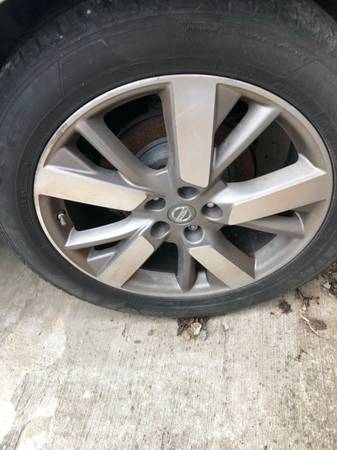 Photo 4 wheels for 2013 Nissan Pathfinder(207-12(alloy, 5-Y spoke)) - $400 (Antioch)