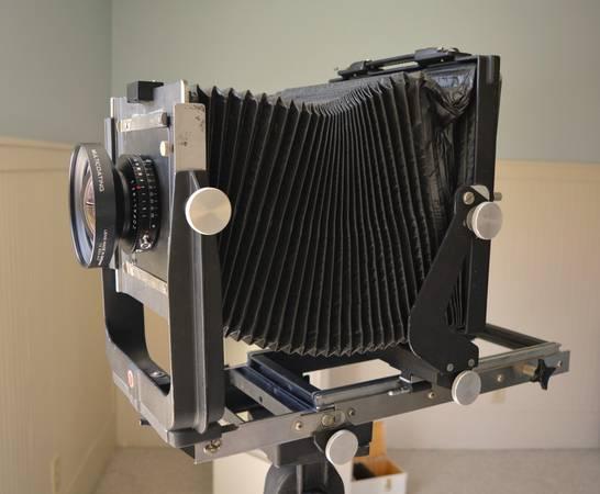Photo Calumet C1 8x10 Field Camera Kit - REDUCED - $550 (Lascassas)