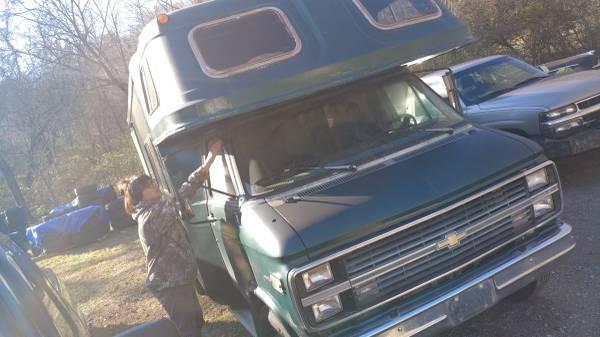Photo Chevy rv runs and drives - $1,800 (Pegram)