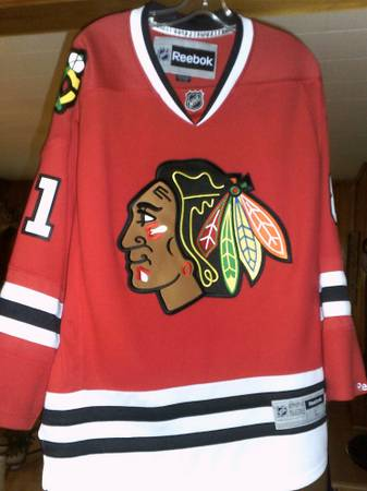 Photo Chicago Blackhawks Marian Hossa Reebok Official Licensed Jersey - $100 (Ethridge)