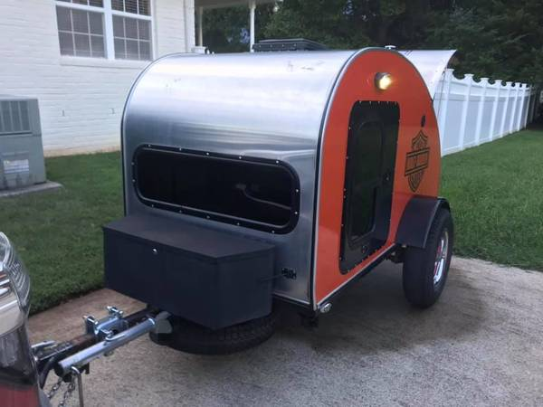 Photo Custom made teardrop cer trailer - $5,000 (murfreesboro)
