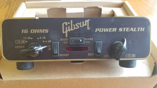 Photo Gibson 16 ohms Power Stealth THD Hot Plate attenuator - $180 (DonnelsonThe Gulch)