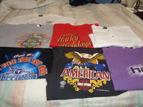 Photo Harley Davidson Shirts - $10 (Priest Lake area)