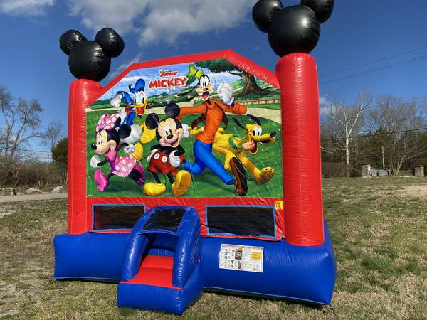 Photo Inflatable Mickey Mouse Bounce House - $1,500 (Nashville)