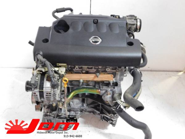 Photo JDM 2002-2006 NISSAN ALTIMA, SENTRA 2.5L DOHC ENGINE ONLY - $850 (JDM MIDWEST)