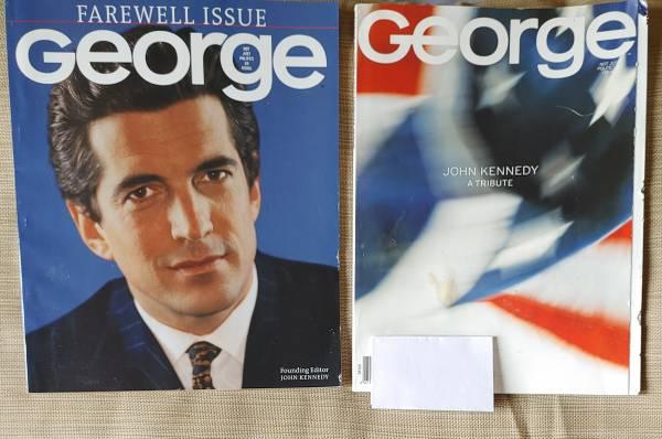 Photo JFK George Magazine - $25 (Columbia)