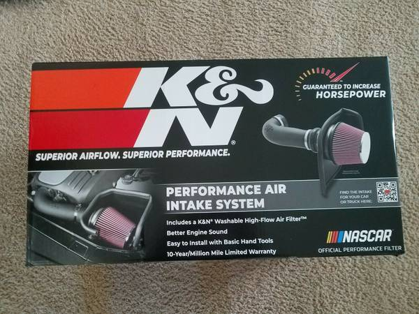 Photo KN Cold Air Intake System 63-3082 2014-2020 Chevy GMC Cadillac - $1