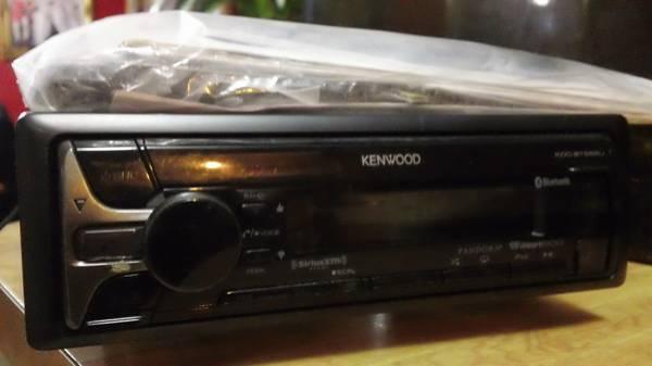 Photo Kenwood KDC-X598 Car Stereo w Remote, Hardware  Manual (New) - $100 (Murfreesboro)