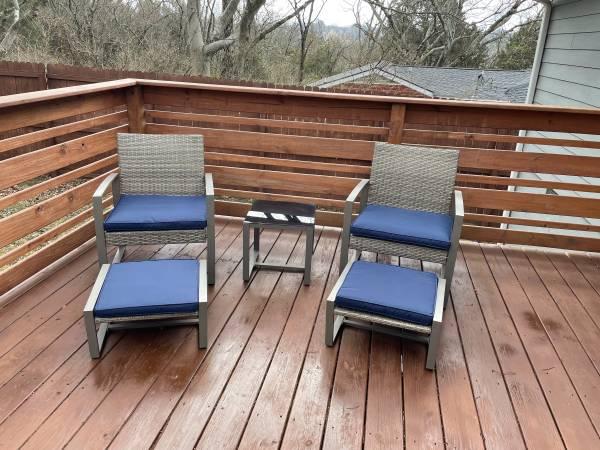 Photo Outdoor furniture set - $120 (Nashville, TN)
