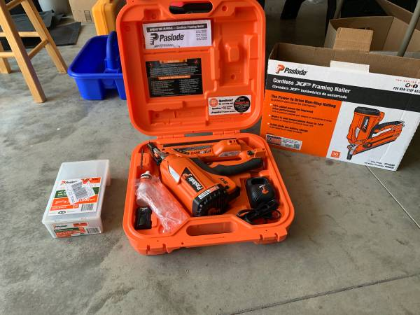 Photo Paslode Cordless Framing Nailer - $235