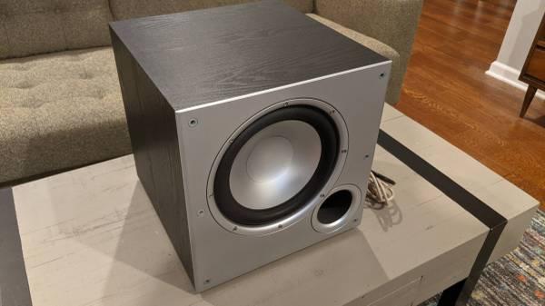 Photo Polk Audio PSW10 100 Watt Power Subwoofer  Nice - $70 (Mt Juliet)