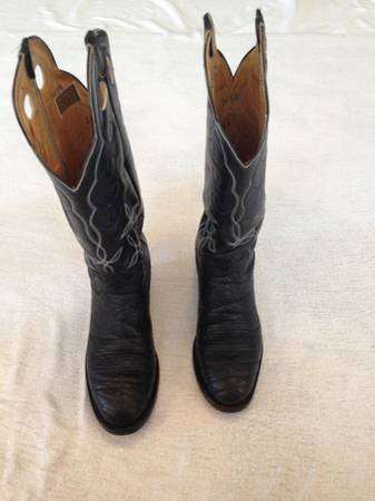 Photo Size 10.5 High Top Western (Cowboy) Boots - $150 (Mount Juliet)