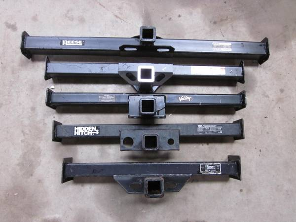 Photo Straight Receiver Hitch Bars - Attn Welders - Sizes 32quot to 51quot - $50 (Burns)
