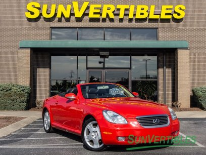 Photo Used 2002 Lexus SC 430 Convertible for sale