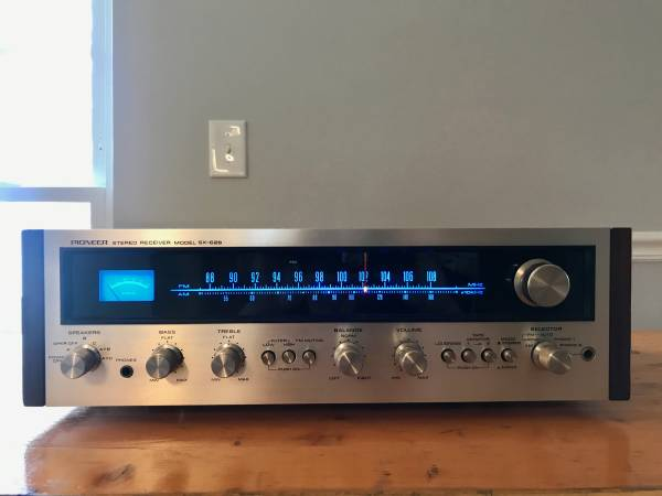 Photo Vintage 197039s Pioneer SX-626 Stereo Receiver - $300 (Goodlettsville)