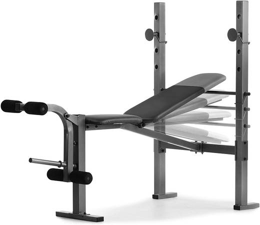 Photo Weider XR 6.1 Multi-Position Weight Bench with Leg Developer and Exerc - $125 (Chapel Hill)