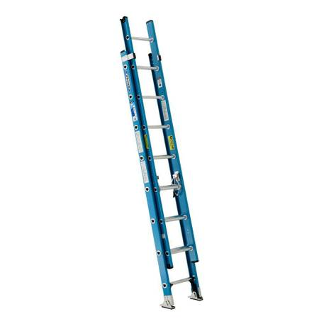 Photo Werner 1639 Fiberglass Extension Ladder w Bumper Covers - $150 (Hermitage)