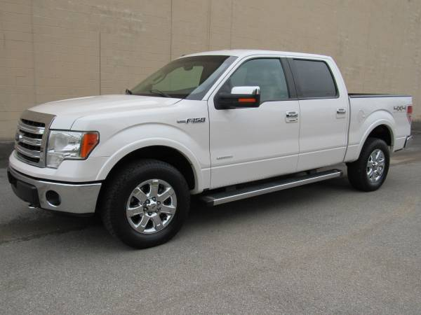 Photo 2014 FORD F150  LARIAT  SUPERCREW  4X4  1 OWNER  LOADED  - $15835 (NO DOC FEES)