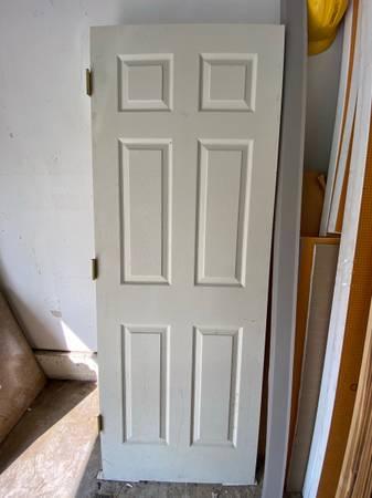 Photo Interior Masonite 6-Panel Woodgrain Door Slabs  - $1 (Brentwood)