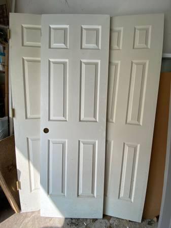 Photo Interior  6-Panel Masonite Woodgrain Door Slabs - $1 (Brentwood)
