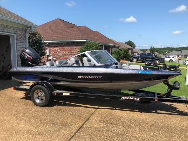 Photo 06 stratos 170 fish  ski - $12,000 (Pearl)