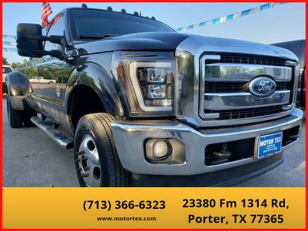 Photo 2011 Ford F350 Super Duty Crew Cab - Financing Available - $28995