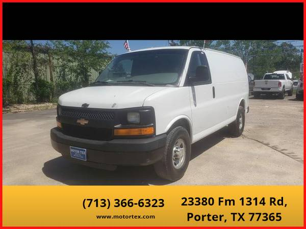 Photo 2012 Chevrolet Express 2500 Cargo - Financing Available - $6995