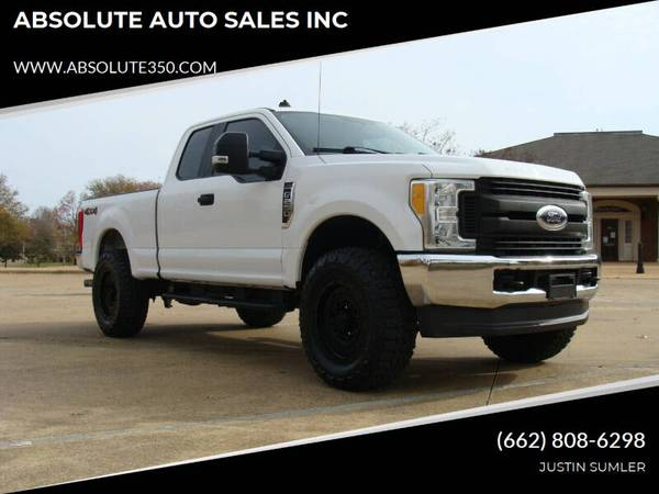 Photo 2017 FORD F250 XL EXTENDED CAB 4X4 LIFTED STOCK 842 - ABSOLUTE - $26,800 (CORINTH, MS)