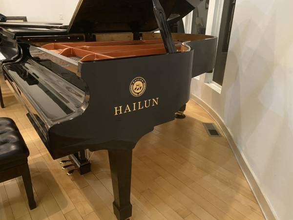 Photo HAILUN HG-198 GRAND PIANO - 70 LESS THAN NEW LIST FREE DELIVERY - $15,950 (Atlanta  Free Delivery)