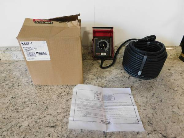 Photo Lincoln Power Source Remote Output Control 10039 Cable 6-Pin Connector - $300 (Baton Rouge)