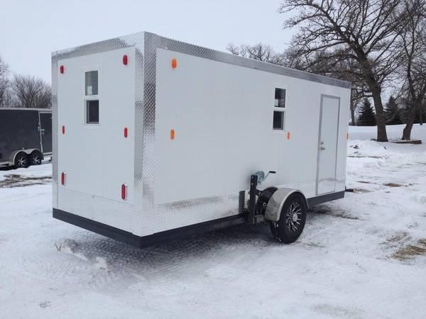 Photo 16 ft fish house with 4 ft V - $12,500 (FargoMoorhead)