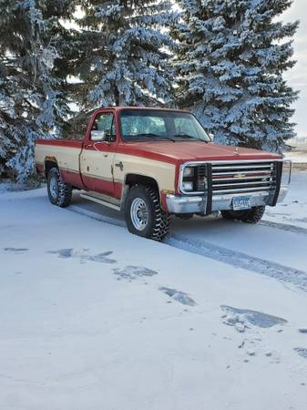 Photo 1984 Chevy Silverado K20 - $3,000 (Barnesville)