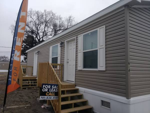 Photo 2020 HOME FOR SALE Special offer for purchaser of the home (Minot MHP North Star MHP)
