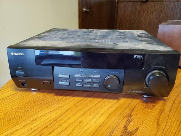 Photo Kenwood SURROUND RECEIVER VR-406 - $10 (Fargo)