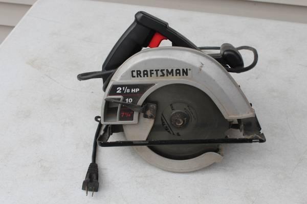 Photo Vintage Craftsman 315.108320 7-14quot Circular Saw 2-18 Hp 10 Amp USA - $35 (South Fargo)