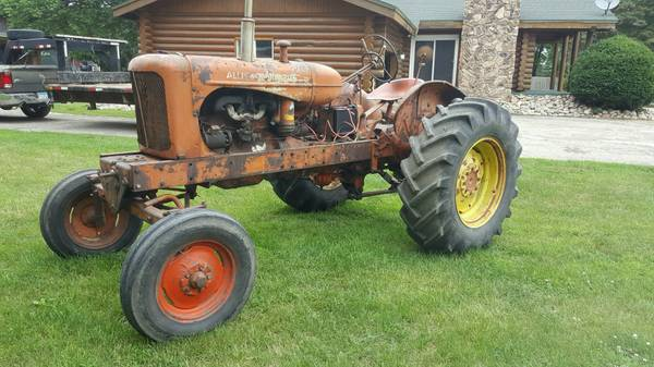 Photo WD Allis Chalmers tractor - $1,200 (Morris)