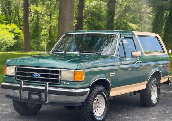 Photo 1990 Ford Bronco Eddie Bauer - $19,900 (Monroe)