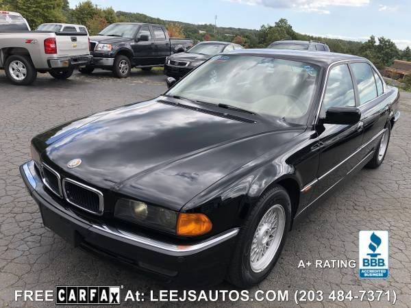 Photo 1998 BMW 740iL LONGFREE CARFAXULTRA CLEANVG QUALITY COND - $3400 (NORTH BRANFORD, CT)