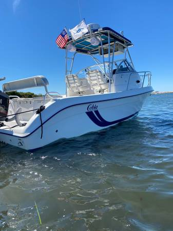 Photo 2001 Cobia 230 Walkaround with Yamaha 250 OX66 saltwater series II - $29,995 (Clinton)